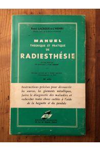 Manuel théorique et pratique de Radiesthésie
