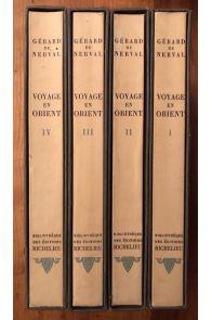 Voyage en Orient (4 volumes, complet)