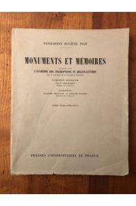 Monuments et mémoires de la Fondation Eugène Piot tome 59