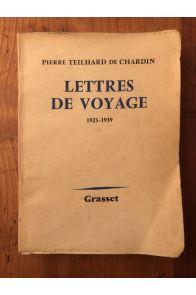 Lettres de voyage (1923-1955)