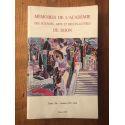 Mémoires de l'Académie des sciences, arts et belles lettres de Dijon Tome 136, Années 1997-1998
