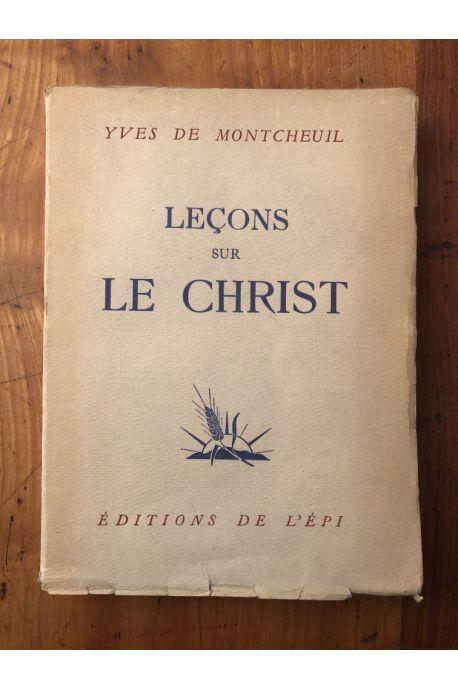 Leçons sur le Christ