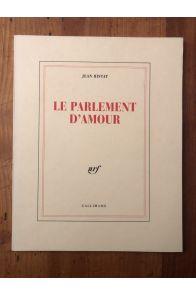 Le Parlement d'Amour. Eloge de M. Burattoni, assis sur le tombeau de Virgile et dessinant.