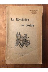 La Révolution en Lozère