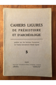 Cahiers ligures de Préhistoire et d'Archéologie 1956 N°5
